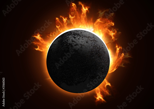 detailed total eclipse #3166063