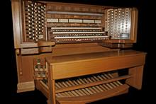 Pipe Organ On Black