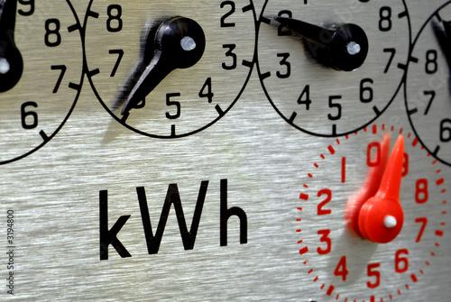 Photo meter dials