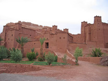 Moroccan Fortress On A Oued, A...