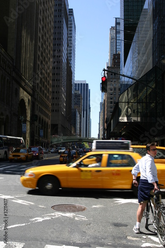 Staande foto New York TAXI taxi à new york 2