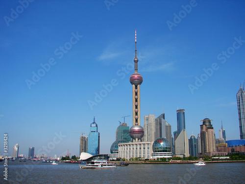 Photo  shanghai's landmark