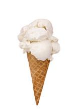 Vanilla Ice Cream Cone