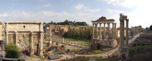 Obraz na płótnie roman forum panorama
