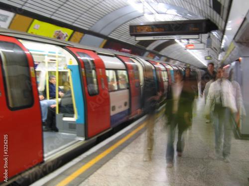 london tube Canvas