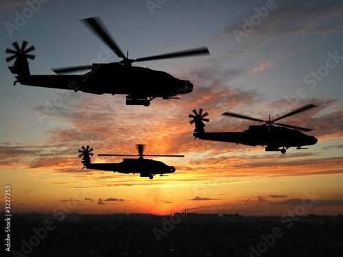 Papiers peints Hélicoptère helicopters