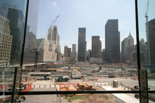 Fotografia  ground zero construction site