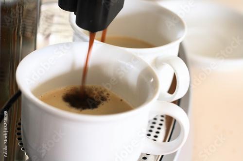 Obraz na plátně kaffeemaschine
