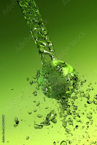 canvas print motiv - auris : water splashes