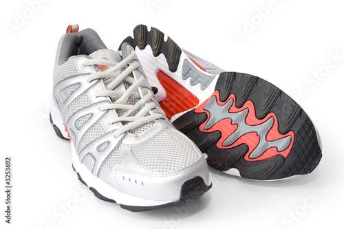 Fotografia  man's jogging shoes