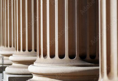 Photo classical columns
