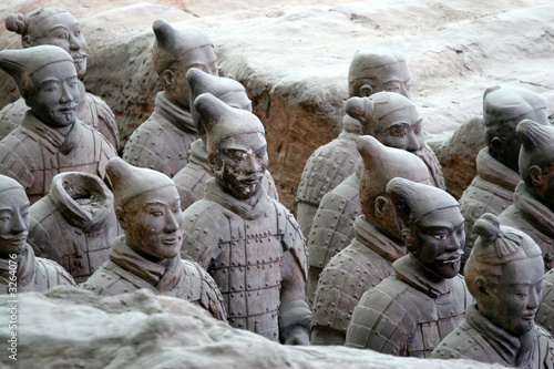 Foto op Aluminium Xian terracotta warriors