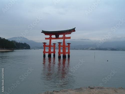 Foto op Canvas Japan miyajima
