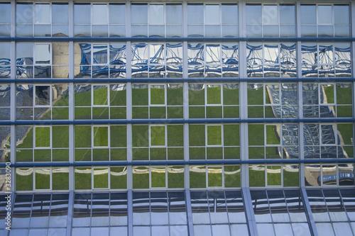 Foto op Plexiglas Stadion stadium reflected