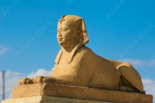 Tuinposter Egypte pompey's sphinx