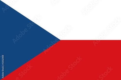 Fotografia drapeau republique tcheque
