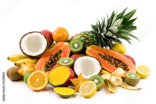 Foto  tropical fruits