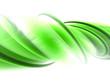 abstrakte grüne welle