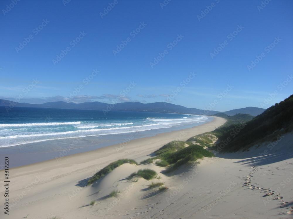 Foto-Schiebegardine Komplettsystem - most beautiful beach ever