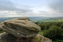 View Over Dales From Brimham Rocks