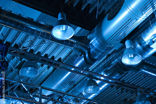 ventilation system Canvas Print