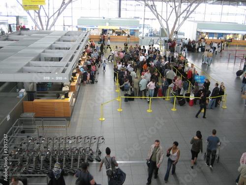 Foto auf AluDibond Bahnhof flughafen