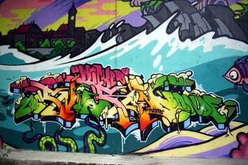Fototapeta samoprzylepna graffiti