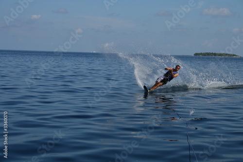 Fotografie, Obraz  water ski