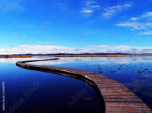 Tuinposter China peaceful lake