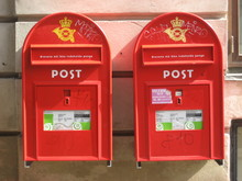 Danish Mailboxes
