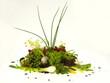 sommer salat bouquet