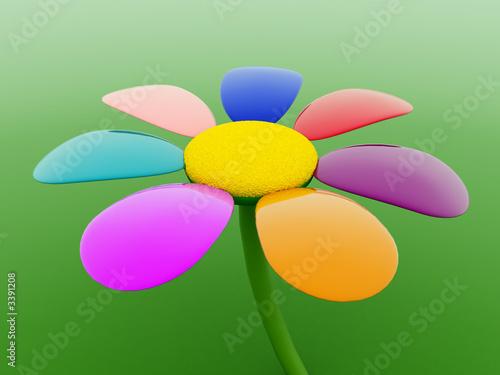 Foto-Plissee - 3d flower (von Ivan Polushkin)