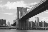 Monochromatisches Manhattan