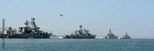 Photo  very large warship