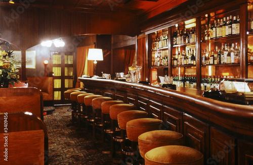 Obraz interieur de bar - fototapety do salonu