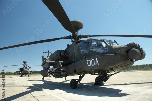 Photo apache helicopters