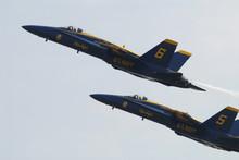 F18 Blue Angels