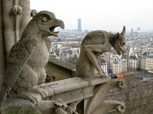 Cityscape Of Paris From Cathed...