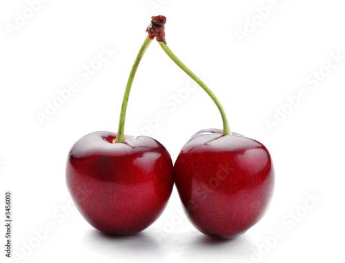 Fotografie, Obraz  twin cherries