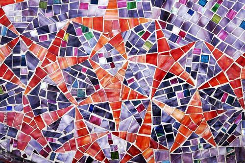 gwiazdy - mozaika abstrakcyjne tło