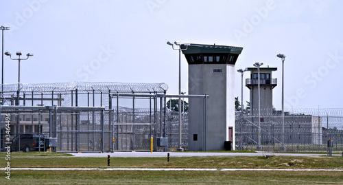 prison - fences Canvas-taulu