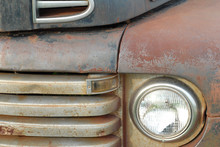 Rusty Truck Details