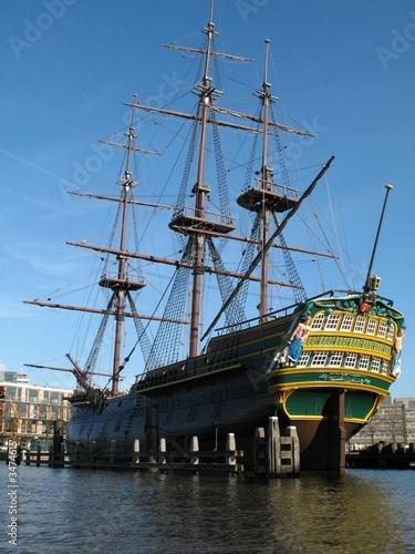 Papiers peints Nautique motorise clipper ship, amsterdam