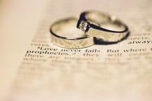 Wedding Rings - Love Never Fails