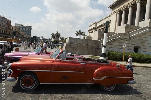Türaufkleber Autos aus Kuba classic american car