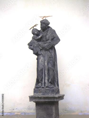 Obraz na plátně saint antoine de padoue