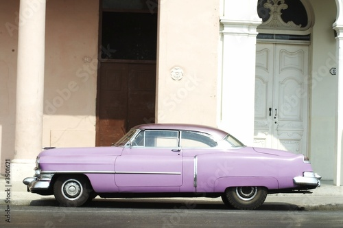 Türaufkleber Autos aus Kuba american classic cars