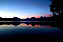 Sunset Over Lake Mcdonald, Gla...