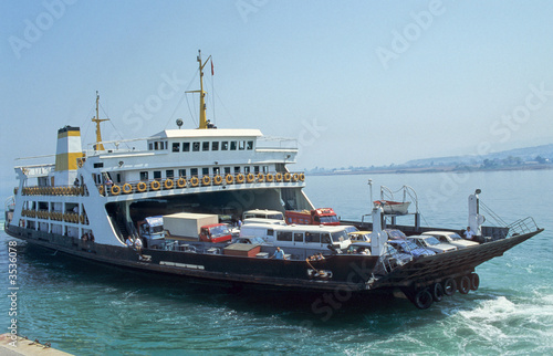 Canvas Print Ferryboat-1