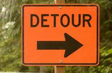 Detour Road Sign